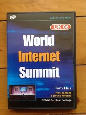 World Internet Summit DVD by Tom Hua,  Brand New Official Seminar Footage