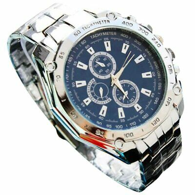 Hot 2019 Luxury Brand Men Business Watches Mens Stainless Steel Band Quartz A...