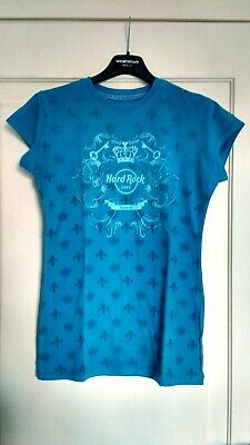 HARD ROCK Cafe Donna T-shirt_LONDON 2006_tg S_small_maglia UK Londra_queen royal