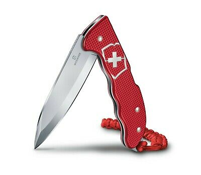Victorinox Swiss Army Knife Hunter Pro Red Alox with Clip & Paracord 0.9415.20