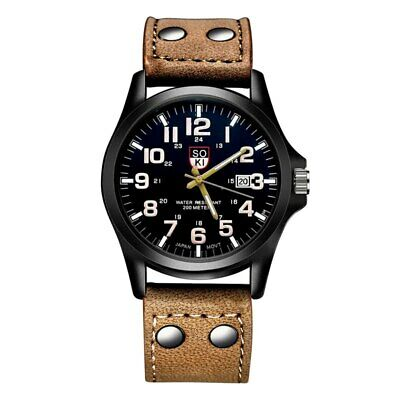 2018 Fashion Men's Watch Men Chronograph Mens Watches Top Brand Luxury Leathe...