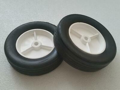 "NEW Pair of 2 x Wheel 7-3/4"" in Diameter"