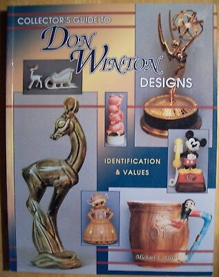Don Winton Collectible's Price Guide Collectors Book Figurines