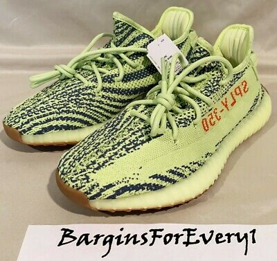 6e3557247904c New Men s Adidas Yeezy Boost 350 V2 - Size 5 - Semi Frozen Yellow - B37572