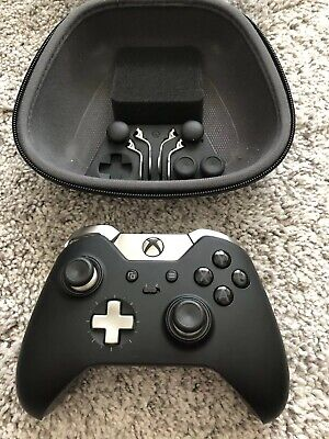 Microsoft Xbox One Elite (HM3-00001) Wireless Controller Used, Case Included
