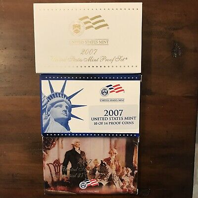 ***2007 Us Mint Proof Set***all Original Including White Outer Sheath***