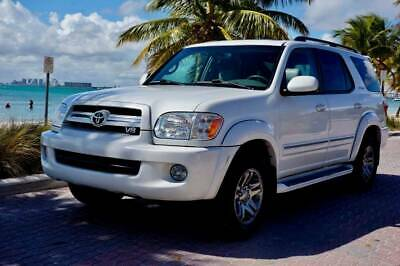 2006 Sequoia Limited 2006 Toyota Sequoia Limited 145k Miles ARCTIC FROST PEARL, 1 OWNER, CLN CARFAX