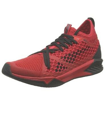 8aedd05710b Puma Ignite Xt Netfit Scarpe Sportive Indoor Uomo Rosso Toreador black 44  9.5 Uk