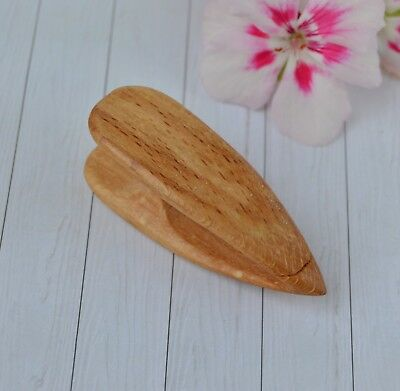 Wooden Tatting Shuttle Handmade of beech wood