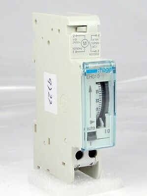 Hager Timer Time Swith EH010 110V / 240V 50-60Hz