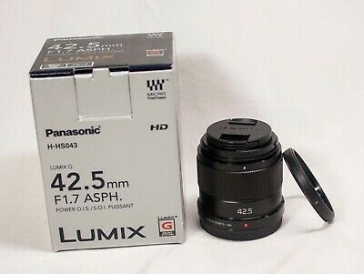 Panasonic Lumix G 42.5mm f/1.7 Aspherical Power O.I.S. Lens