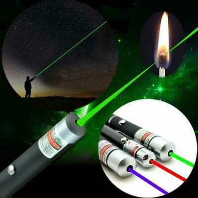 Powerful Red Laser Pointer Pen Beam Light 5mW Professional Military High Power.