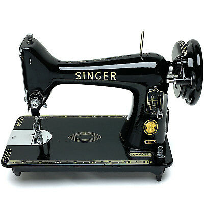 SINGER 99 99k Vintage Sewing Machine Portable Vtg Serviced & Restored by 3FTERS