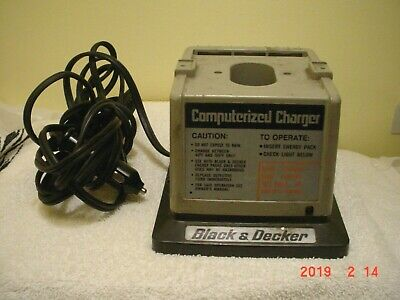 Genuine Black & Decker (98065) Computerized 60 Minute Battery Charger 8' Cord
