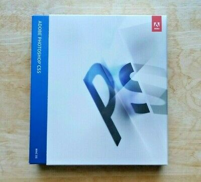 Genuine Adobe Photoshop CS5 Creative Suite 5 for Mac - Brand New Factory Sealed