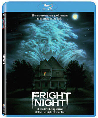 Fright Night 1985 (Blu-ray) Chris Sarandon, William Ragsdale, Amanda Bearse New!