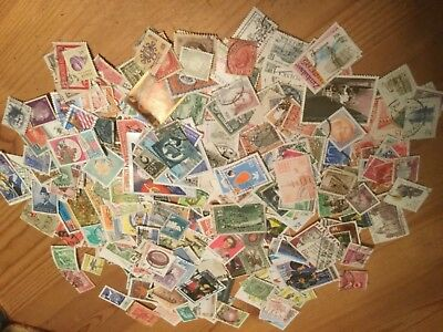 500 World Used Postage Stamps All Different