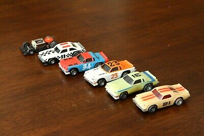IDEAL TCR HO Slot Car Lot 11 21 23 31 34