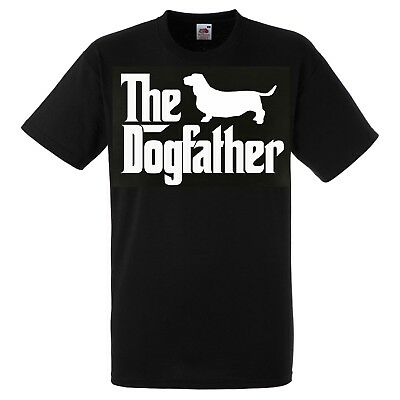 Basset Hound Dog Father T SHIRT The Dogfather