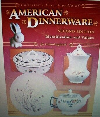 VINTAGE DINNERWARE PRICE GUIDE COLLECTORS BOOK with trademarks