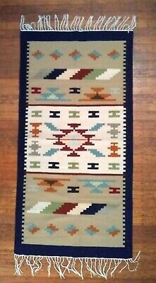 Egyptian Oriental Handmade Kilim Hand-knotted Tribal pattern Natural Thin Wool