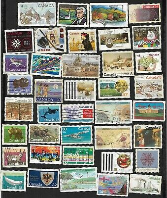 (111cents) Canada Collection of used Stamps 150+