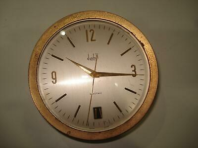 Dunhill Electric Desk Clock For Parts or Repair AS IS