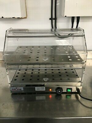 Brand New Electric  Heated Display Cabinet Pie Warmer Food Warmer