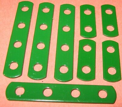 Meccano Compatible Used Parts Assorted Narrow Strips