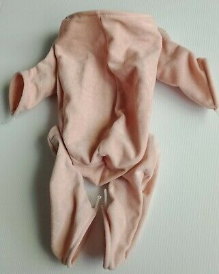 """1/4 limb doe-suede body suits 18-21"""" reborn doll kits USA made New!"""