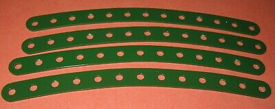 """Meccano Compatible Used Parts Curved Strips 6-1/2"""""""