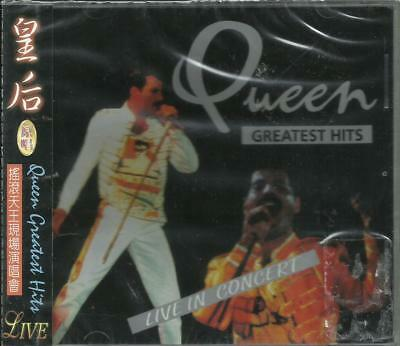 QUEEN - Rare Import CD from Asia - Greatest Hits Live In Concert (Canada) - NEW