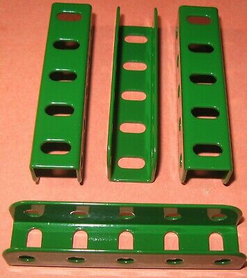 """Meccano Compatible Used Parts Angle Girders 'u' Section 2-1/2"""""""