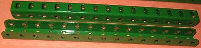 """Meccano Compatible Used Parts Angle Girders 'u' Section 7-1/2"""""""