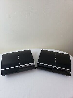 AS IS FOR PARTS OR REPAIR Lot of 2 Sony Playstation PS3 Consoles!
