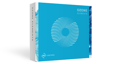 iZotope OZONE 8 Elements Mastering Software Mac/PC NEW