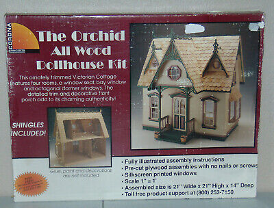 Greenleaf Corona Dollhouse Kit, Orchid 9301G New in Box FREE SHIPPING