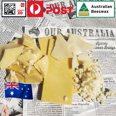 Oz beekeepers bees wax cosmetic soap wrap Chunks Block Pellet Drops Slices bulk