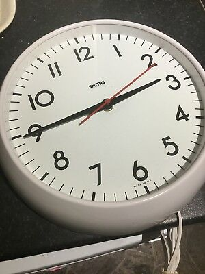 Vintage Smiths Electric Wall Clock  New Old Stock