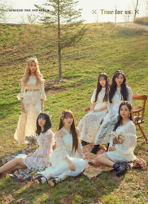 GFRIEND [TIME FOR US] 2nd Album DAYBREAK. Original Official FOLDED POSTER ONLY
