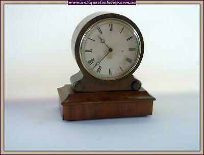 Lovely Small Drum Clock Part Of Huge Clock Collection Of 40 Year 120+ Clocks