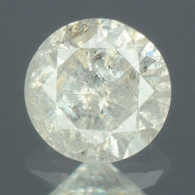 0.20 cts CERTIFIED Round Brilliant Cut White-K Color Loose Natural Diamond 14442