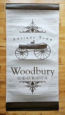 Authentic - Walking Dead Woodbury, GA Sign - Used On-screen