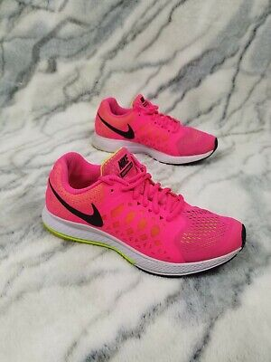 0d3ac2120379 Nike Zoom PEGASUS 31 Hyper Women s Sneakers Pink Running Shoes 654486-600  Size 8