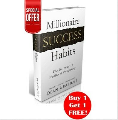 Millionaire Success Habits eBook PDF  Free Shipping Resell Rights Digital