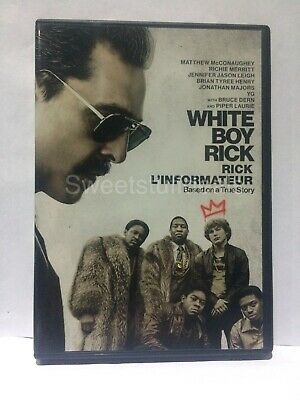 White Boy Rick (DVD, 2018)