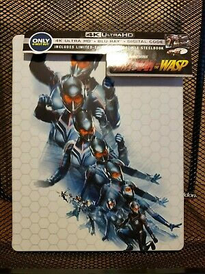Ant-Man and The Wasp US Steelbook4K/Blu-ray Best Buy great shape! With Digital!