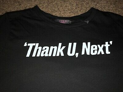 "Ariana Grande shirt XL ""Thank You, Next"" Graphic"