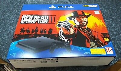 Sony PS4 500GB Red Dead Redemption 2 BOX ONLY NO CONSOLE & ACCESSORIES
