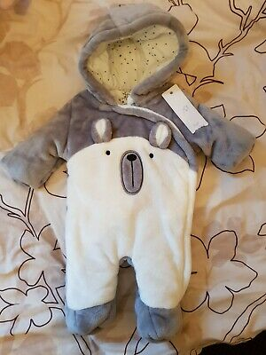 baby boy or girl snowsuit, pramsuit up to 3 months